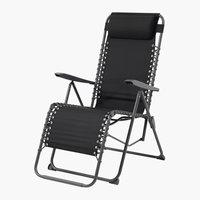 Relaxstoel HALDEN zwart