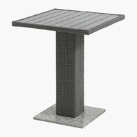 Table bistrot THY 60x60 gris