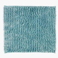 Badematte LUXUS CHENILLE 45x50 blau