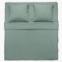 Conjunto lençóis ELLEN 260x300 verde
