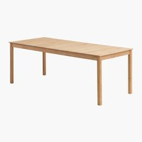 Table VESTERHAVET W90xL210 solid teak