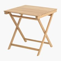 Folding table VESTERHAVET W70xL70 teak