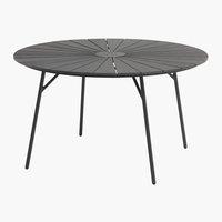 Table RANGSTRUP Ø130 noir
