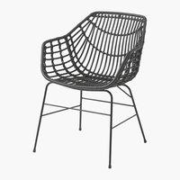 Cadeira ILDERHUSE preto