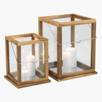 Lantern BROMS W20/26xH24/32 2 pieces