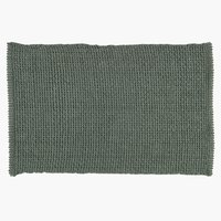 Bath mat NOLVIK 50x80 dusty green