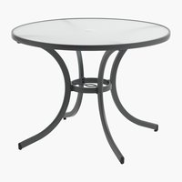 Table NIZZA Ø105 gris
