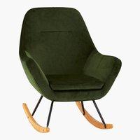 Cadeira baloiço NEBEL verde
