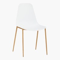 Chaise NEDERBY blanc