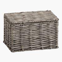 Aufbewahrungsbox HANNA 12x16x10cm grau