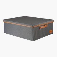Caja LARA A44xL56xA20cm gris