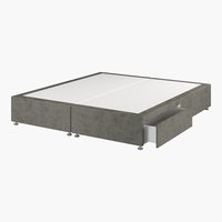 Divan 180x200 GOLD D10 2 drw Grey-50