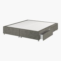 Divan 150x200 GOLD D10 4 drw Grey-50