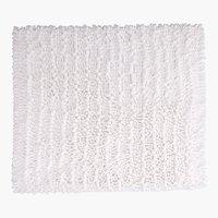 Tapete banho MICRO CHENILLE 45x50 branco