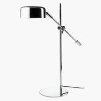 Tischlampe ISAK B16xL42xH49cm Chrom
