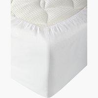 Sábana ajust Jersey 180x200x30cm blanco