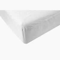 Lenzuolo impermeabile 80x190x20cm bianco