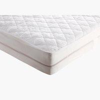 Protector colchón 135x190cm blanco