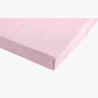 Lenzuolo Jersey 100x200x28cm rosa antico