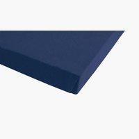 Lenzuolo in jersey 100x200x30cm blu