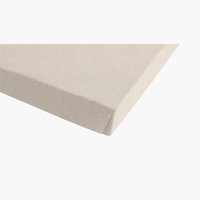 Jersey-Spannleintuch 150x200x30 beige
