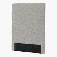 Sänggavel 105x125 H30 CURVE grå-29
