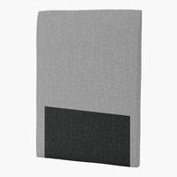 Sänggavel 90x125 H30 CURVE grå-32