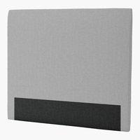 Sengegavl H30 CURVE 150x125 grå-27