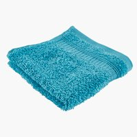 Asciugamano viso KRONBORG DE LUXE blu