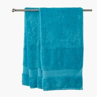 Lençol banho KRONBORG DE LUXE azul