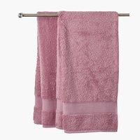 Toalha banho KRONBORG DE LUXE rosa