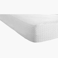 Protector colchón 160x200x20cm blanco