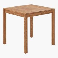 Mesa jantar JEGERUP 80x80 carvalho