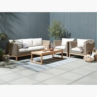 Set lounge GLAMSBJERG 5 pers. teck