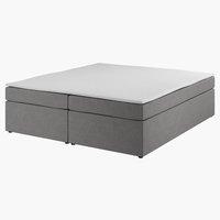 Boxsp.postelja 160x200 PLUS C20 Siva-33