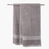 Bath sheet KARLSTAD 100x150 grey