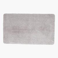 Tapis bain UNI DE LUXE 65x110 gris clair