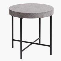 Coffee table BANKEHUSE D50concrete/black
