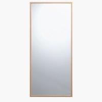 Mirror TARUP 68x152 oak