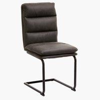 Krzesło ULSTRUP antracyt szary