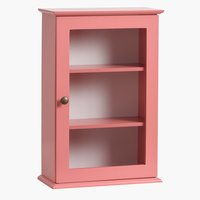 Armoire murale LOOK IN rose poudré