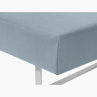 Lenzuolo Jersey 180x200x32cm blu polvere