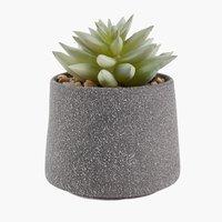 Plante artificielle LUCAS Ø9xH12cm a/pot