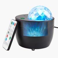 Galaxy projector KARLO w/multicolour LED