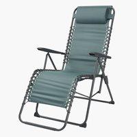 Chaise relax HALDEN vert foncé
