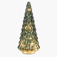 Weihnachtsbaum MODGUNN Glas H26cm