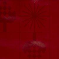 Mantel de vinilo GULDSTEN 140 rojo