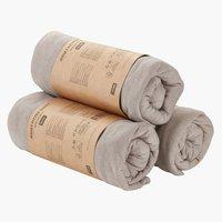 Jersey sheet DBL/KNG grey