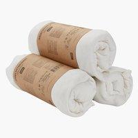 Jersey sheet KNG white