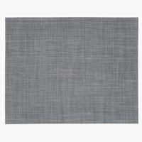 Mantel indiv VALLMO 33x42 gris oscuro